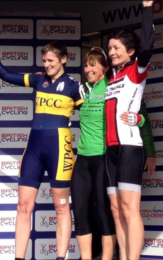 National Trophy green jersey for Tracey